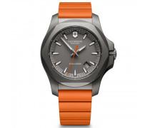 I.N.O.X. Titanium Quarzuhr Titan grey orange