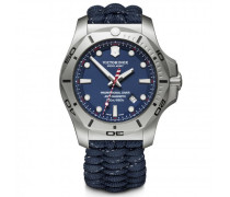 I.N.O.X. Professional Diver Taucheruhr Edelstahl blue blue