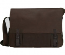 Leado Messenger Leder braun