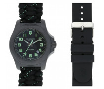 I.N.O.X. Carbon Quarzuhr Carbon black black