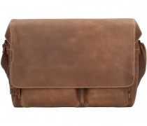 Hunter Travis Aktentasche Leder Laptopfach vintage tan