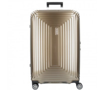 Neopulse Spinner 4-Rollen Trolley metallic sand