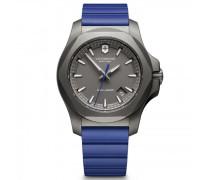 I.N.O.X. Titanium Quarzuhr Titan grey blue