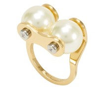 LV Speedy Pearls Ring