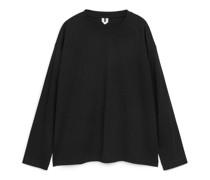Langärmeliges T-Shirt Aus Pima-Baumwolle