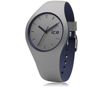 ICE duo Cloud - Graue Herrenuhr mit Silikonarmband - 012974 (Medium)