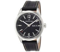 Analog Quarz Uhr mit Leder Armband H43311735