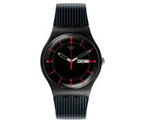 Analog Quarz Uhr mit Silikon Armband SUOB714