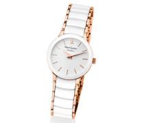 Damen-Armbanduhr Analog Quarz Weiß 014G900