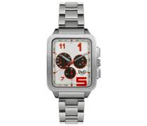 D&G Dolce&Gabbana Armbanduhr Analog Quarz Edelstahl DW0185