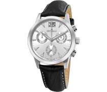 Armbanduhr Chronograph Quarz Leder 1722.9532