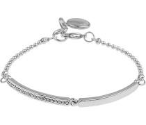 Damen-Gliederarmbänder Versilbert 630-3100012