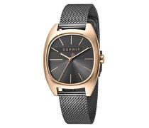 Analog Quarz Uhr mit Edelstahl Armband ES1L038M0125