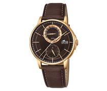 Herren-Armbanduhr Analog Quarz Leder 18324/3