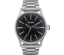 Analog Quarz Uhr mit Edelstahl Armband A356-2348-00