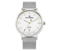 Analog Quarz Uhr mit Edelstahl Armband WBS103SM