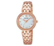 Armbanduhr Analog Quarz Edelstahl beschichtet PH8168X1