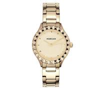 Datum Norm Quarz Uhr mit Edelstahl Armband MG 001-1EM