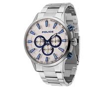 Chronograph Quarz Uhr mit Edelstahl Armband 15000JS/04M