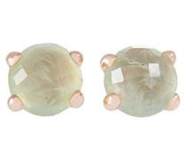 -Spitzen-Ohrringe Bronze-Quarz-WSBZ00279.P