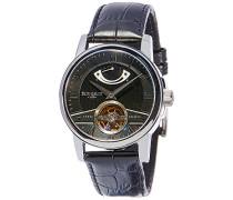 Erwachsene Analog Automatik Smart Watch Armbanduhr mit Leder Armband ES-8081-01
