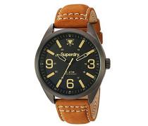 Analog Quarz Uhr mit Leder Armband SYG199TB