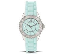 Damen-Armbanduhr Analog Silikon grün 4650.27