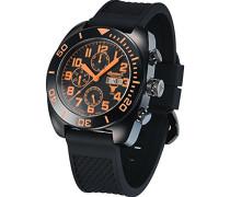 Armbanduhr XL Chronograph Automatik Plastik IN1306BKBK