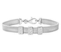 Armband Silber rhodiniert mit Zirkonia 19 cm SBT1501W