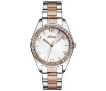 Time Damen Quarz Uhr mit Edelstahl Armband