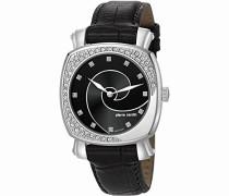 Damen-Armbanduhr Fresque Analog Quarz Leder