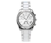 Armbanduhr Analog Quarz Premium Keramik Diamanten - STM15L9