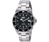 8926OB Pro Diver Uhr Edelstahl Automatik schwarzen Zifferblat