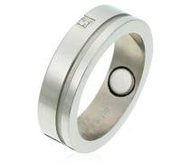 unisex Stainless Steel Ring mit Zirkonia