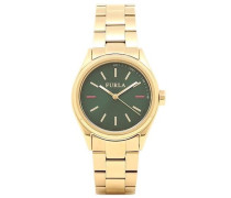 Datum klassisch Quarz Uhr mit Edelstahl Armband R4253101502
