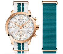 Chronograph Quarz Uhr mit Nylon Armband T095.417.37.117.01