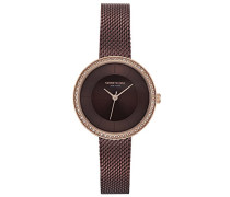 Analog Quarz Uhr mit Edelstahl Armband KC50198003