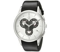 Armbanduhr XL Basic Chrono Chronograph Leder K2A27188
