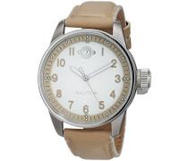 Datum klassisch Quarz Uhr mit Leder Armband A95104