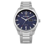 Analog Quarz Uhr mit Edelstahl Armband WBS105USM