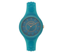Datum klassisch Quarz Uhr mit Silikon Armband SOQ140017