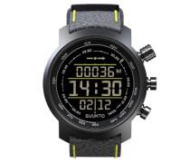 Herren-Armbanduhr Digital Quarz Leder SS019997000