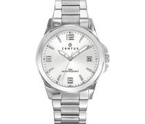 Herren-Armbanduhr Analog Quarz Silber 616342
