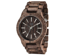 Analog Quarz Smart Watch Armbanduhr mit Holz Armband WW29004