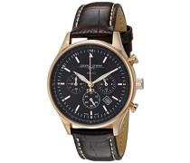 Armbanduhren Chronograph Quarz Edelstahl JG6500-22
