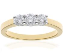 Ring Gelbgold Diamant 0