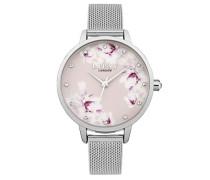 Datum klassisch Quarz Uhr mit Aluminium Armband LP576
