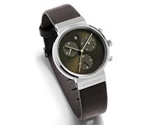 DamenArmbanduhr Chronograph Quarz Leder 614
