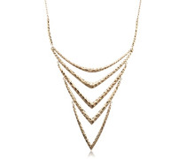 Damen-Collier Lattice Messing 50 cm - 111522031