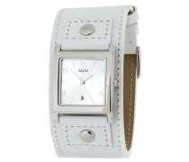 Damen-Armbanduhr Analog Quarz Leder M11050-743